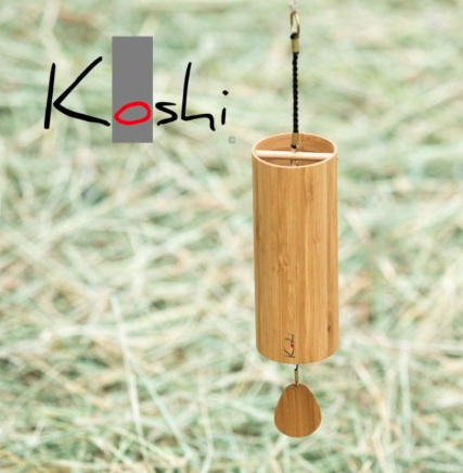 KOSHI CHIMES   Meticulously crafted chimes with precise tuning that create a play of clear tones and rich overtones. Magic!
