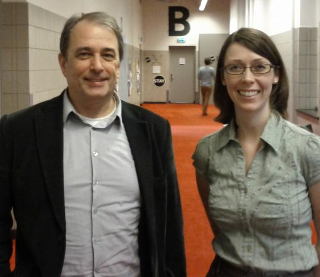 Arent Bosman (TU Delft) and Erin Tripp (discoverygarden)