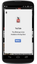 App Interstitials: Annoying and disruptive to whatever your user was trying to do.