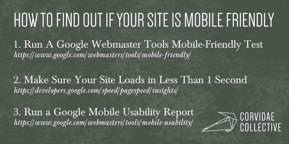 how to find out if your website is mobile friendly