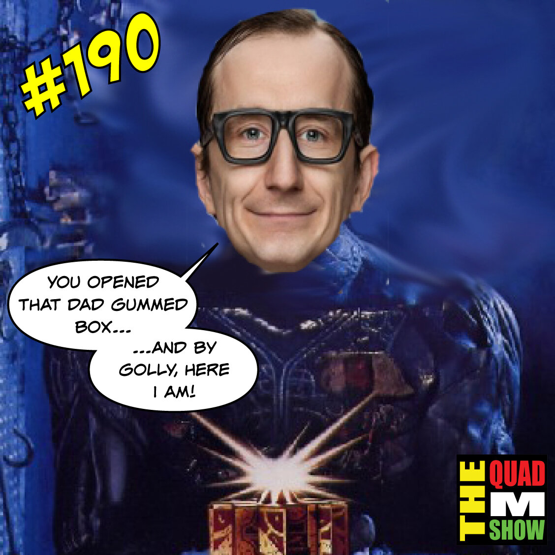 #190 - Don't Eat The Cracker,  Hellraiser Reboot, & Quarantine Streaming
