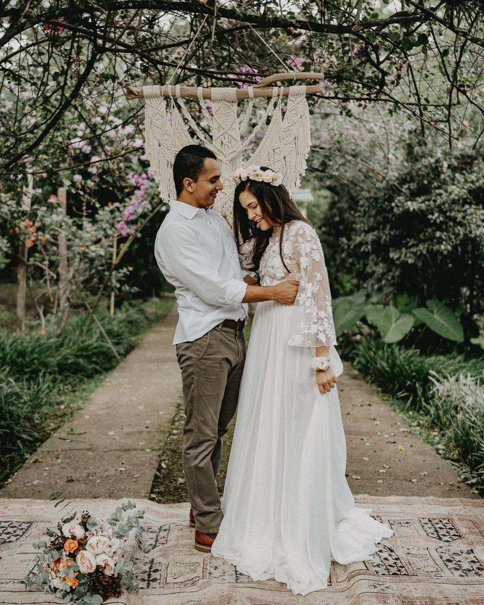 ¡Hola! Queremos conocer su estilo - El siguiente formulario nos ayuda a comprender más acerca de su boda.Haz click abajo para comenzar.