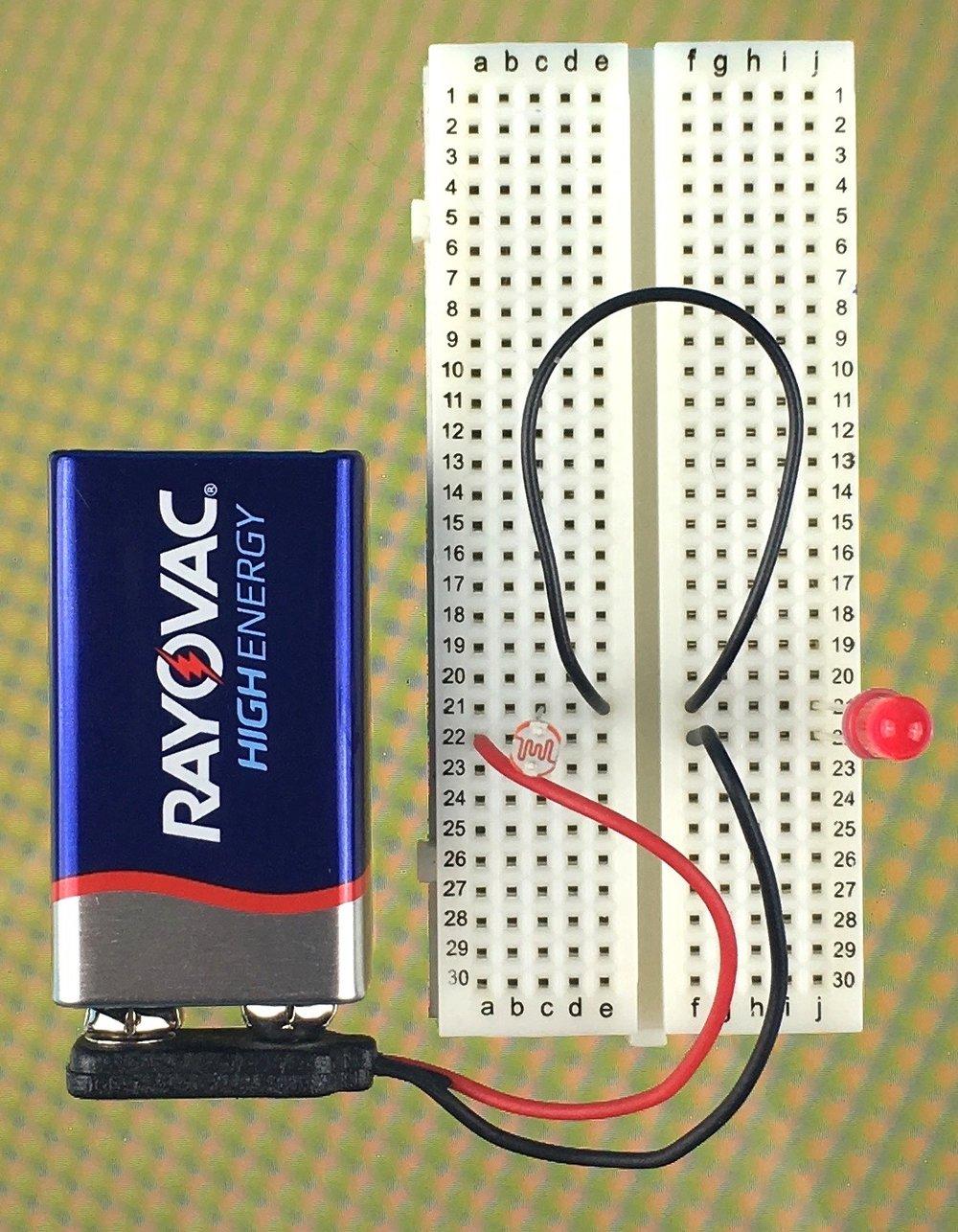 The Basics Lab 7 - intro to photocells