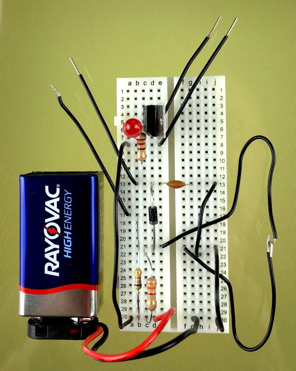 The Basics Lab 16 - Dual burglar alarm