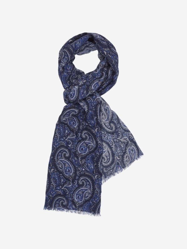 NAVY S227 SCARF