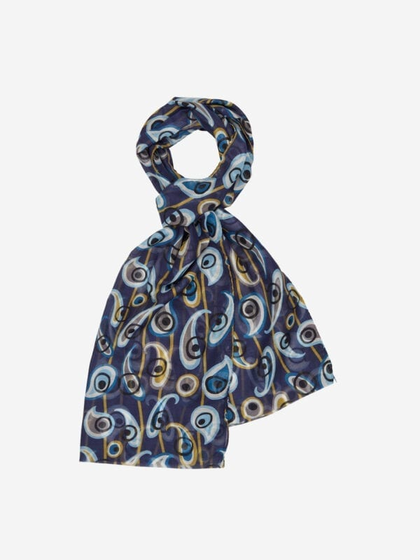 S233 PRINTED SCARF- 45X180CM