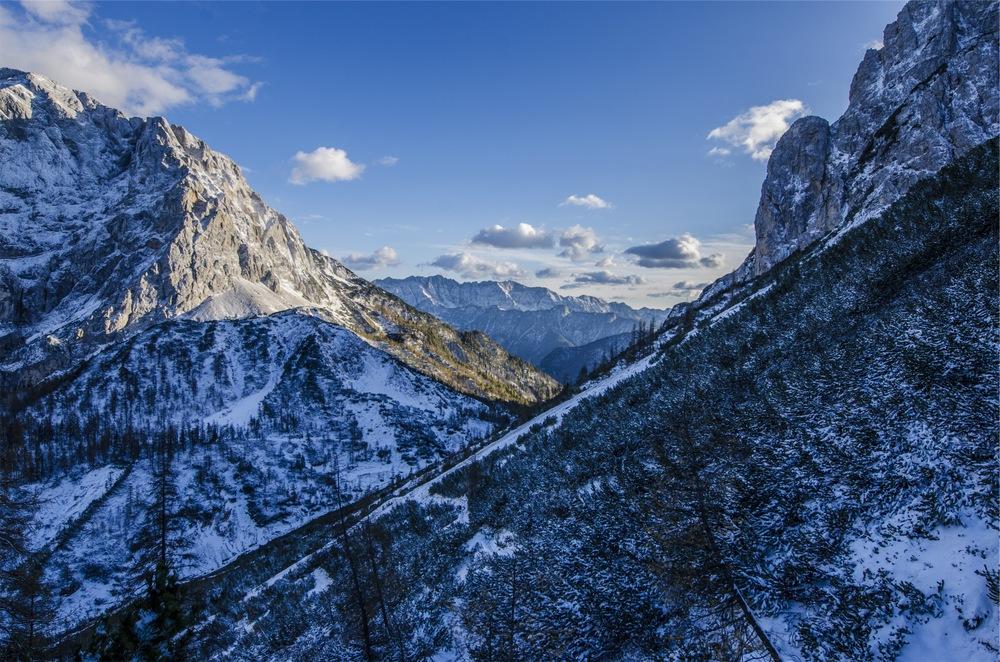 La la la la la la, ski vacations! My life is this beautiful, all the time!