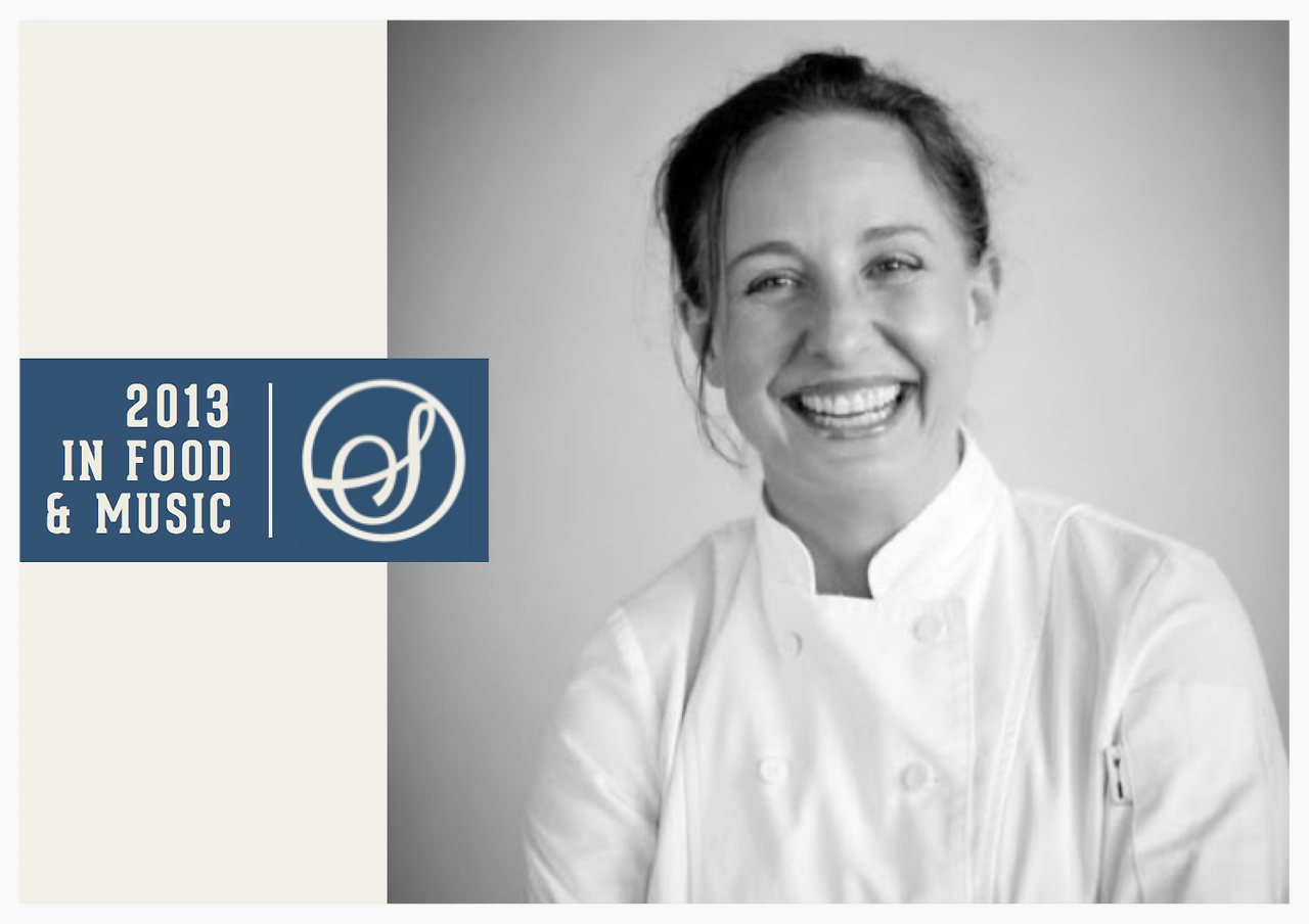 2013 IN FOOD & MUSIC - KATHERINE CLAPNER Katherine Clapner owns Dude Sweet Chocolate and collaborated with The Flaming Lips.  What was the food highlight of you year? Cooking at the James Beard House in New York City as I had always wanted to do it.  It is a big right of passage.   What was the music highlight of your year? Music highlights this year were very local influenced. I think my favorite was - oddly enough - a Cramps cover band with dancers called The Gorehounds.  Sometimes locals are just that.  Local heroes. Was there a moment when food and music came together in a memorable way? My music highlight really was a food and music highlight. Dallas is a small culinary community that is very supportive of one another.  We are always rallying together for charity and the farmers. My favorite was a very small event in support of the Texas Honey Bee Guild.  The event was at a fantastic home showing a movie in support of the honey bee plight. A local garden darling named Tom Spicer who is all things from the earth played with a young man from the arts magnet high school.  For some reason such a small event meant a great deal to me. @clapner