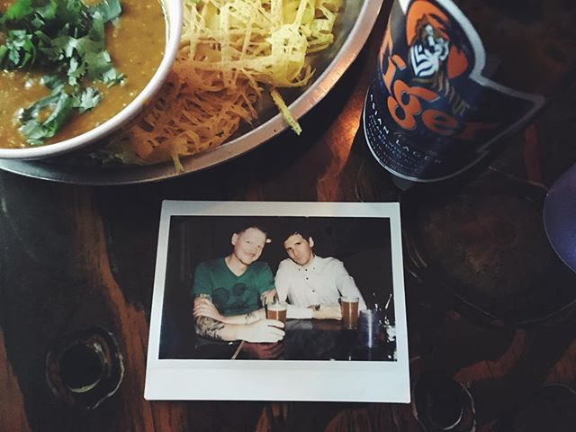 Malaysian food, friends, and analog film. #fujifilm #fujifilminstax #instax300 #analoguepeople #analogphotography #instantfilm #instantfilmsociety #justgoshoot #filmsnotdead #tigerbeer #seattlefuntime
