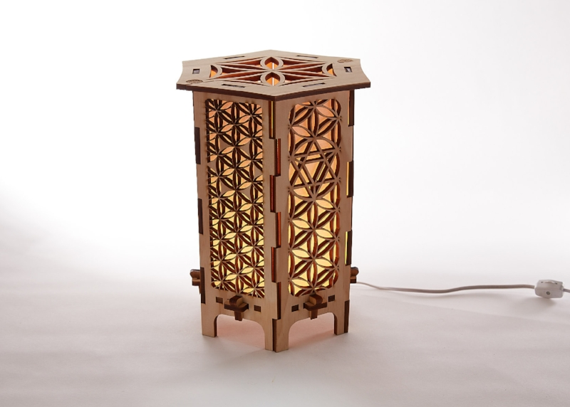 Attrayant Flower Of Life Tabletop Lamps ...