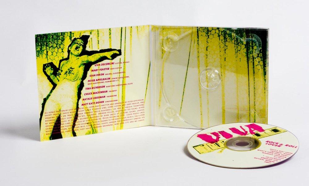 Rock & Roll Lover album art. 2009.