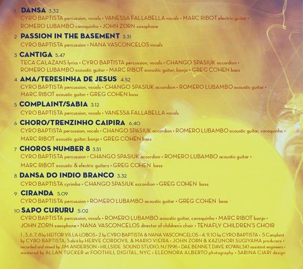 Vira Loucos album artwork. 2010.