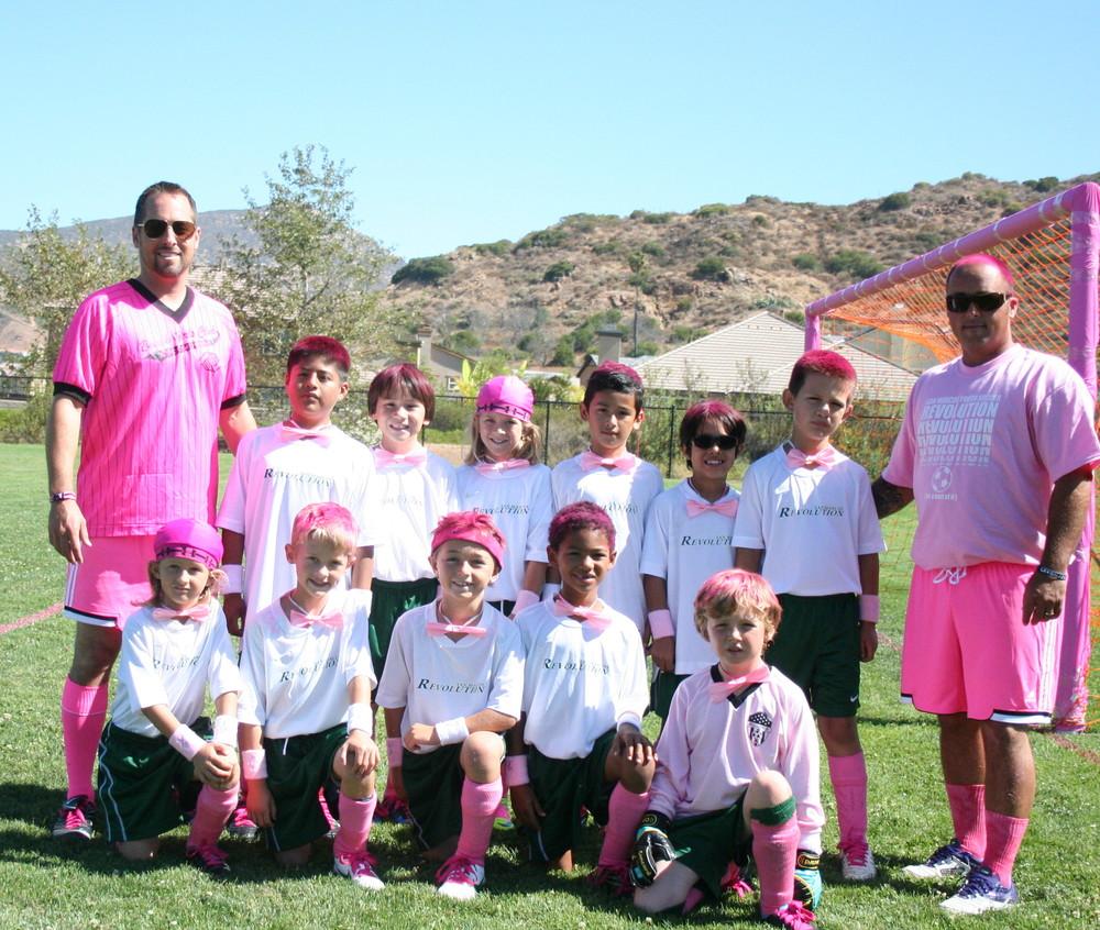 2013 San Marcos Revolution BU10 team