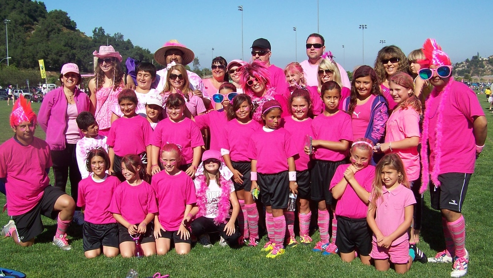 2012 Escondido FC Heat GU10 team and supporters