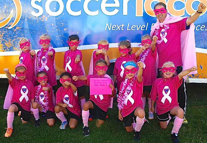 2014 Power of Pink Winner, GU8 Encinitas Express