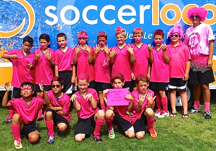 2014 Power of Pink Runner Up, BU11 FC Heat