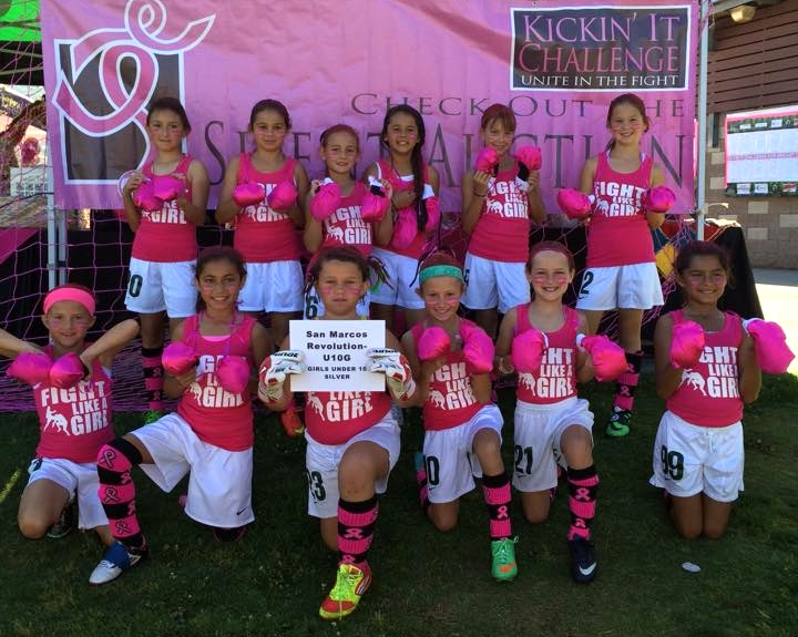 2015 Power of Pink Winner, GU10 San Marcos Revolution