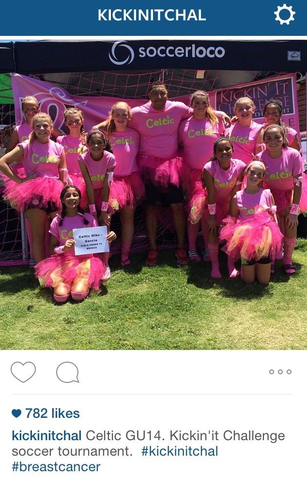 2015 Fan Favorite Power of Pink Winners, GU14 Celtic