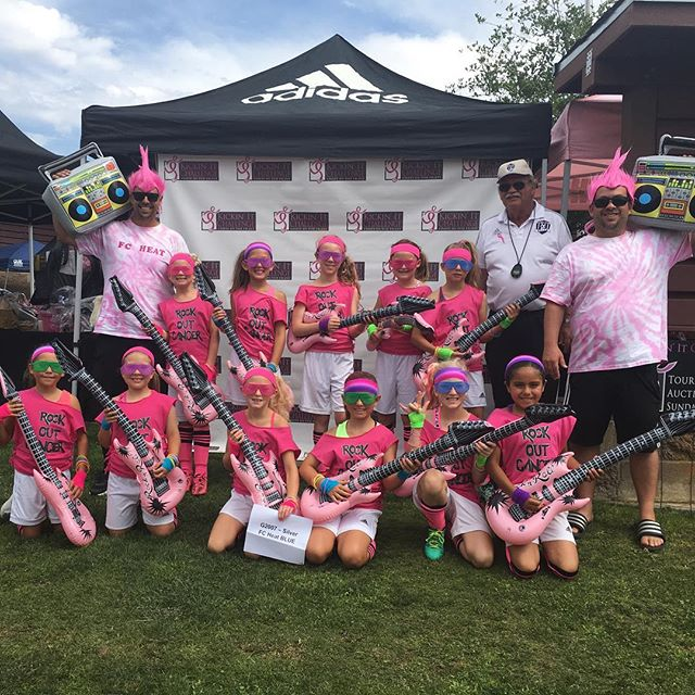 "G07 FC Heat BLUE are going to ""Rock Out Cancer""! #kickinitchal  #komensandiego"