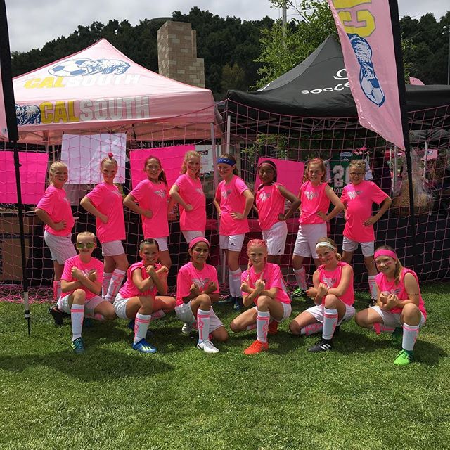 G2007 FC Heat Blue the Wonder Women of Escondido. #kickinchal #Komensd