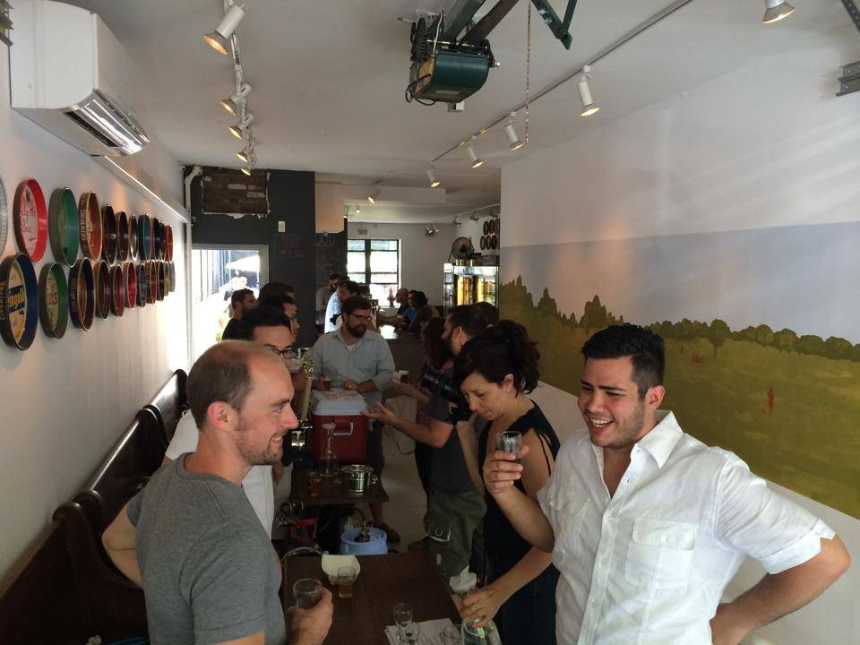 Brewers, Homebrewers, Drinkers come together to celebrate the community at last year's event in August, 2014.