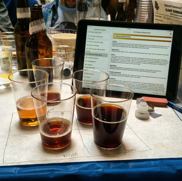 Judging 1st Round of NHC at Singlecut last Spring.