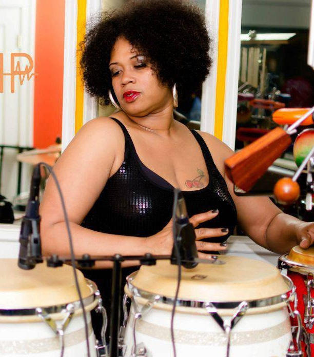"Tracy ""Percussion Lady"" Francis,  Washington DC"