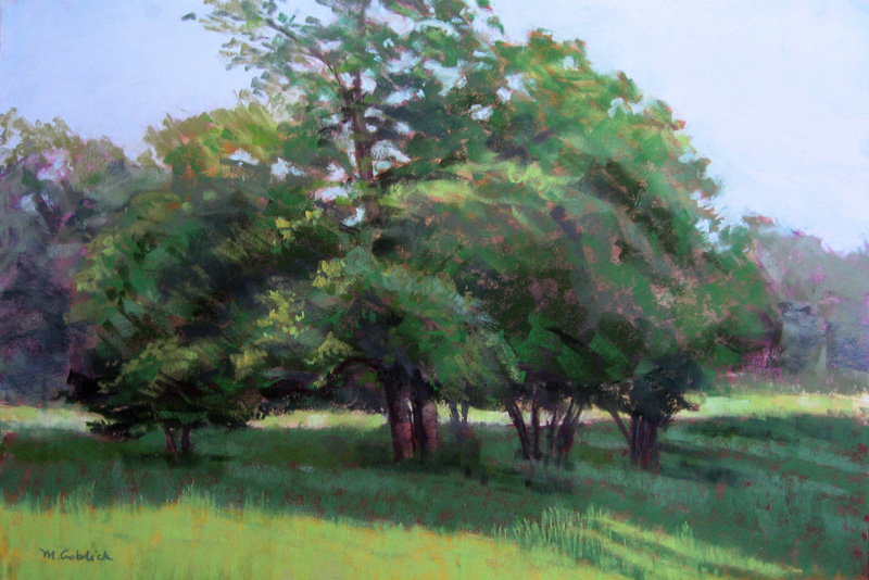 Trees on Lincoln Road #1-Maryann Goblick.jpg