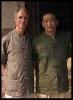 Heiner Fruehauf and Master Wang Qingyu
