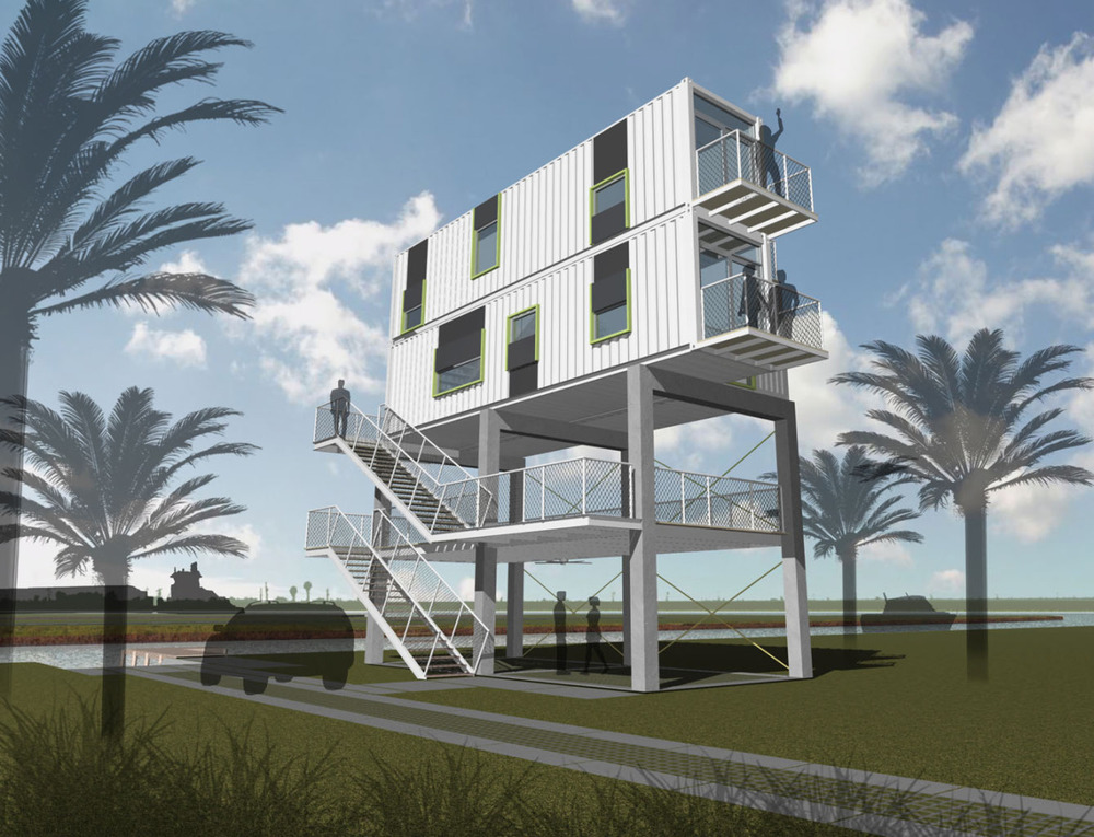 mabry beach house rendering