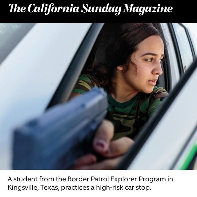 I visited the Border Patrol Explorers, a program training youth in the Border Patrol, in Texas and Nogales, Arizona this year - thanks to @californiasunday and @revealnews for the feature, and huge thanks to @catchlight.io and @alexiafoundation. Fascinating experience. In print Sunday #californiasundaymagazine #reveal #cir #catchlight #borderpatrol #borderexplorer #texas #az #alexiafoundation