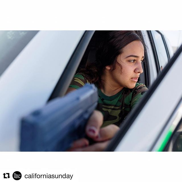 "@californiasunday ・・・ Modeled after the Boy Scouts, the Border Patrol's Explorer program teaches teens immigration law, the history of the Border Patrol, and how to ""become a good American citizen."" (Link in bio) Photographs by Sarah Blesener"
