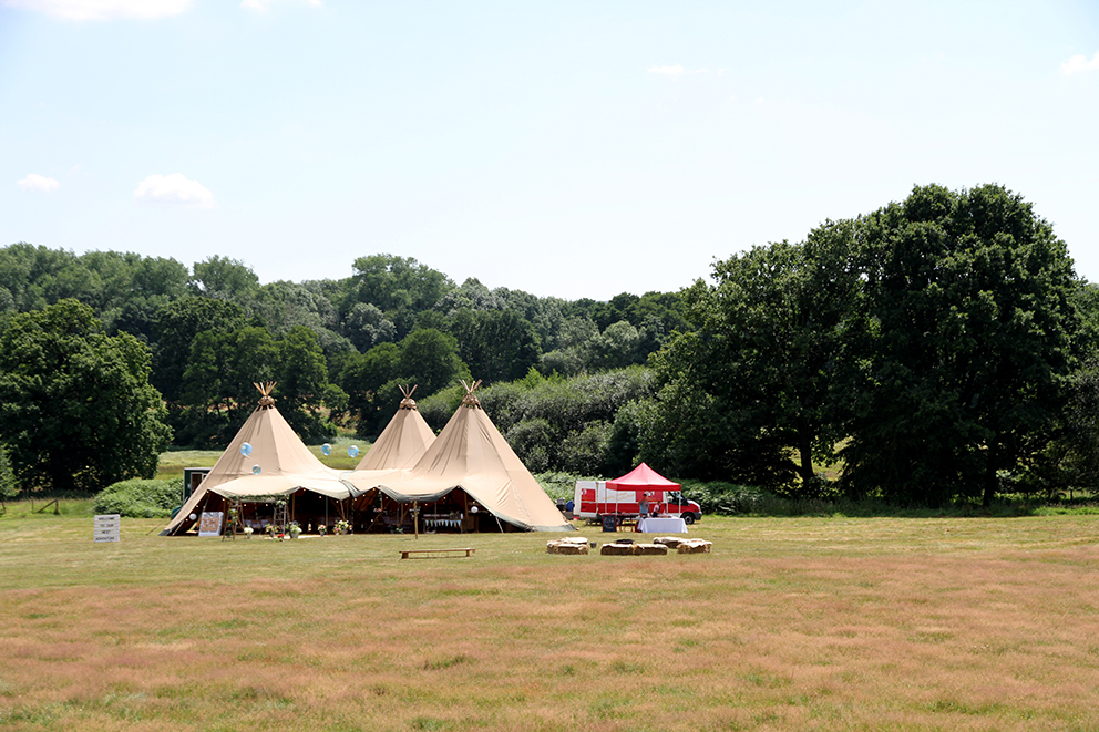 Buffalo Tipis at Hidden Valley  Fiesta Fields