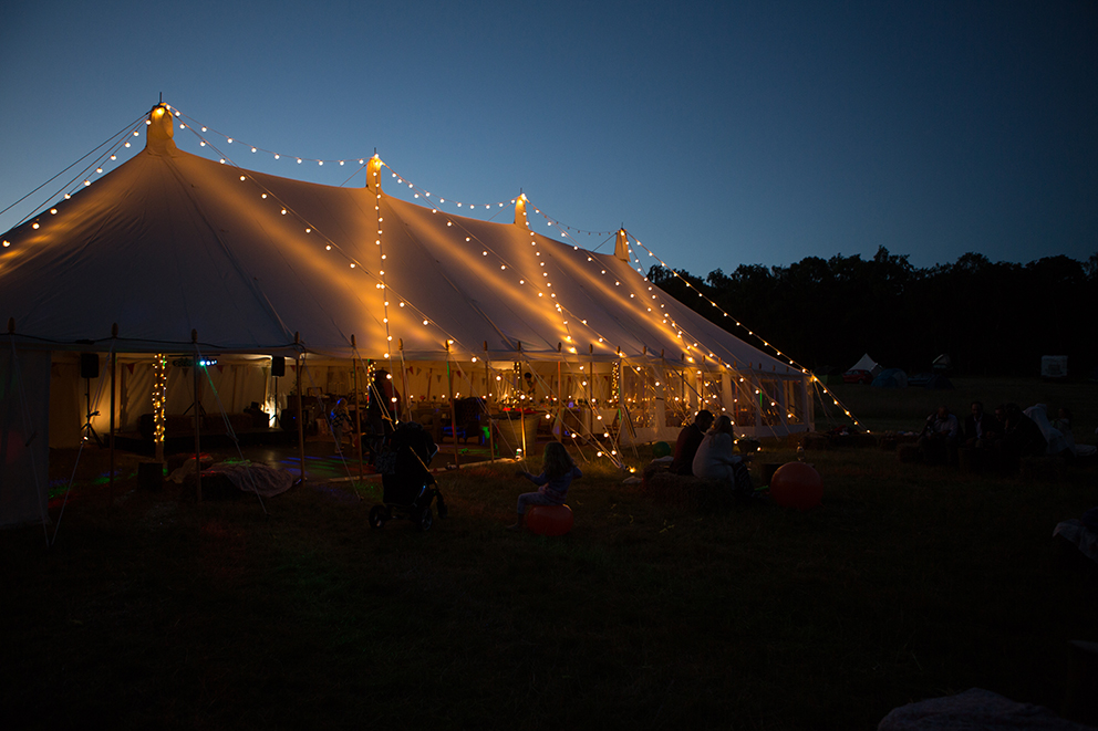 Festoons at Fiesta Fields