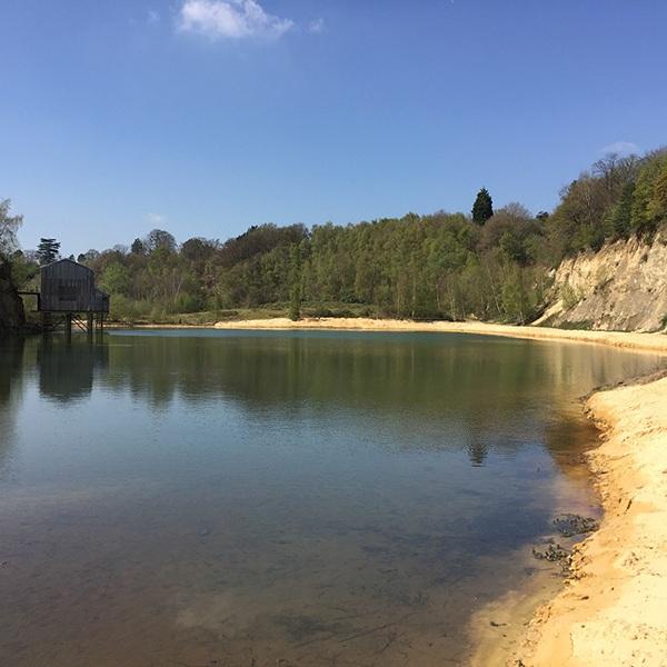 Buckland Park Lake, Reigate, Surrey