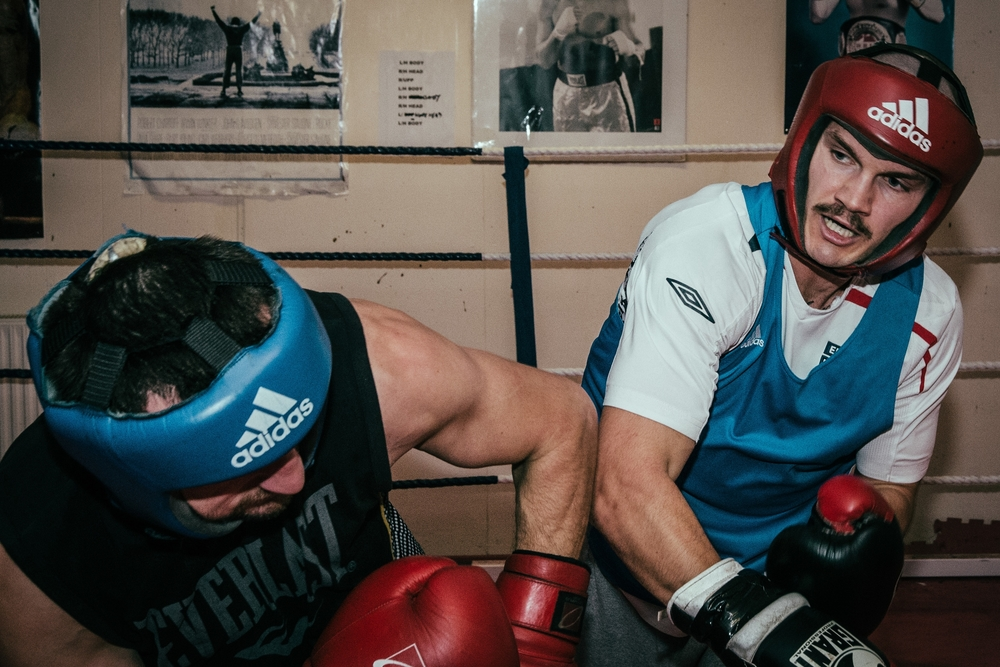 Queensbury Rules - A series showing local fighters preparing for a show.