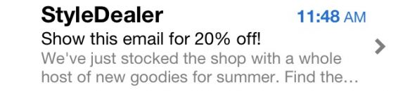 StyleDealer sale