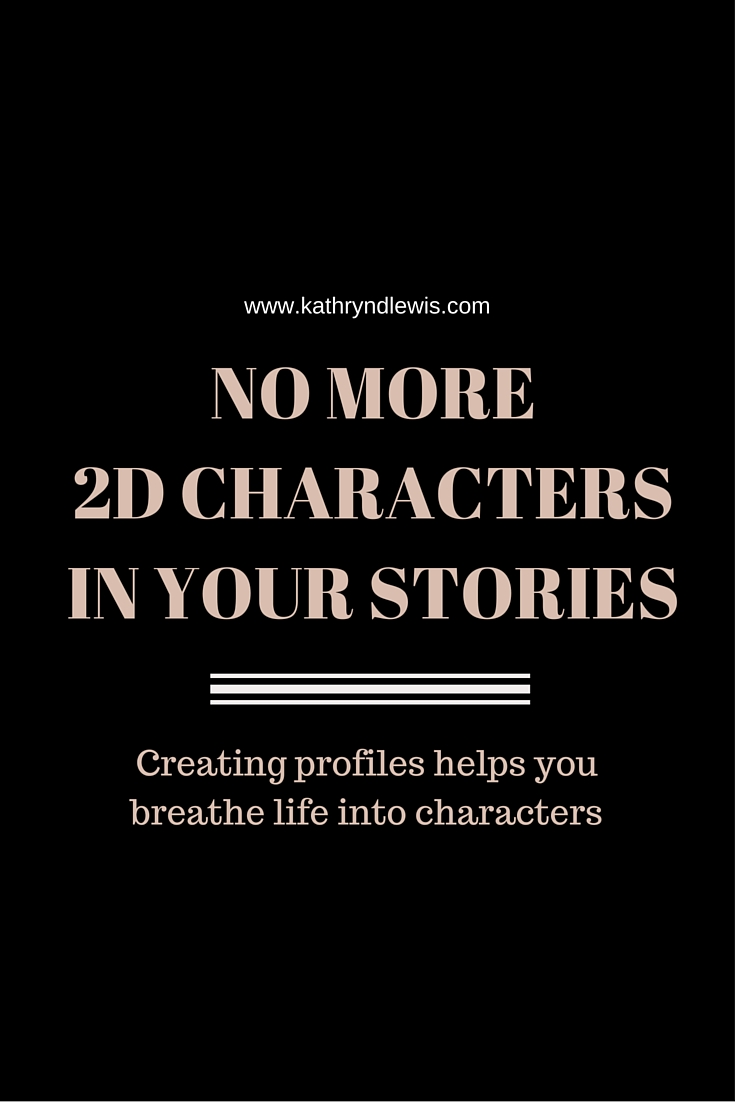 For longer creative writing pieces, I find character profiles to be enormously helpful. They help give definition and breathe life into people who only exist on paper. If ever I'm unsure how a character might respond to his circumstances, I refer back to the profile to remind myself of who he is and what drives him. This profile acts as a blueprint for a fictional person.