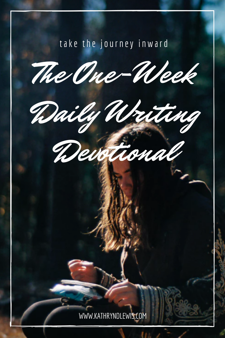 Creatives know how scarce and unreliable money can be, which is why so many opt for unrelated full-time employment so as not to put the stress of a relied-upon income on their passion.   It's the main reason I like giving away things for free. Today, I'm really excited about another free venture: The One-Week Daily Writing Devotional.