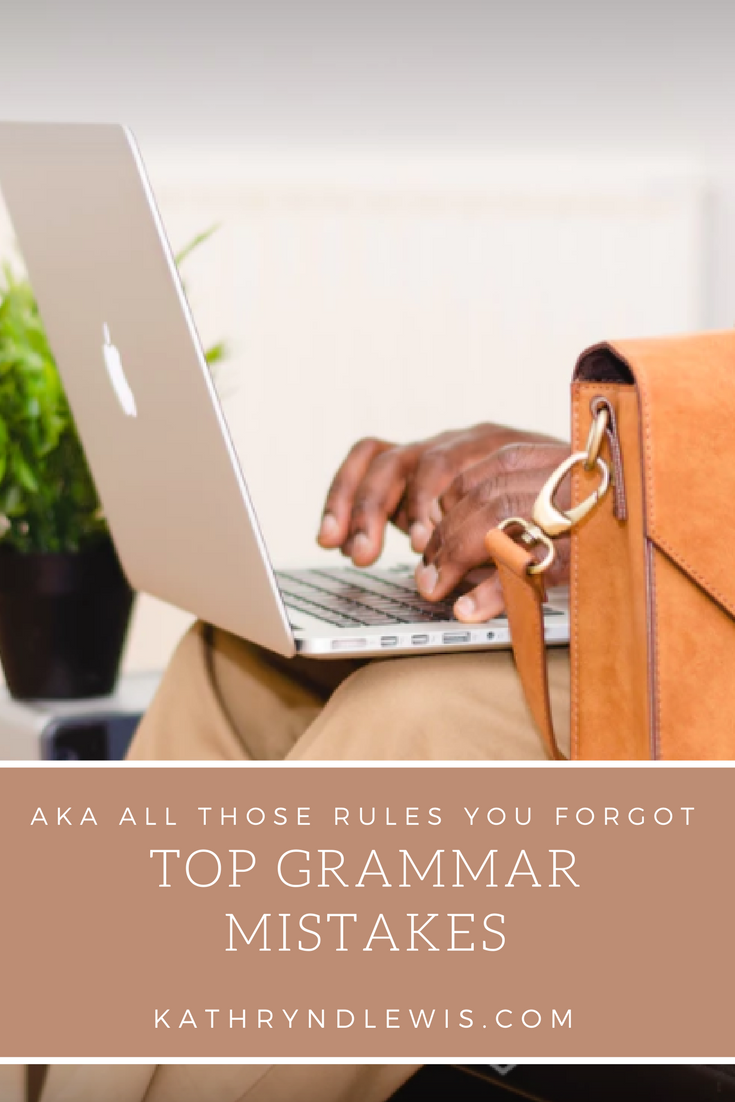 You don't have to be a Grammar Master to be an incredible storyteller. You can weave a yarn, but maybe you have trouble conjugating verbs. No worries! Here are a few oft-forgotten grammar rules to improve your writing.