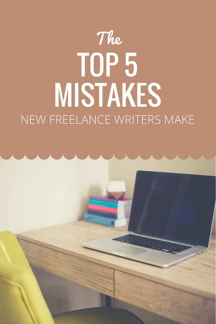 Every new freelance writer makes mistakes. Uh-ohs, as uncomfortable as they can be, are a necessary part of becoming a better writer. When you start your new career path, do your best to avoid these top five blunders writers new to freelancing make.