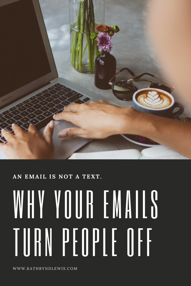 We're writing shorter and shorter emails these days, making brevity the name of the game. Yet are you committing email mistakes that could cost you business relationships? Let's look at how to improve one-to-one emails.