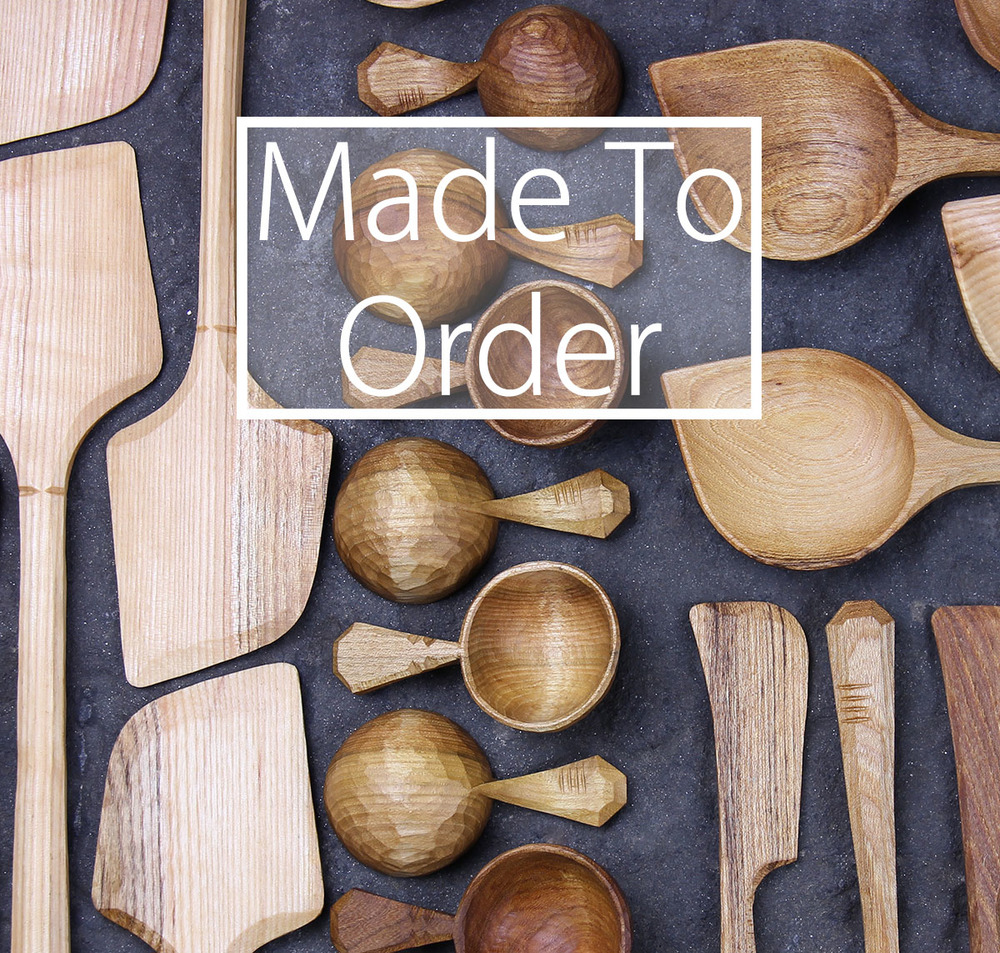 Get your loved ones a hand carved wooden spoon as a gift