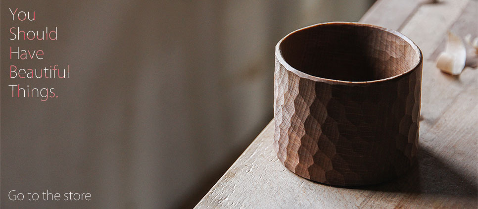 Handcrafted Wooden Pot