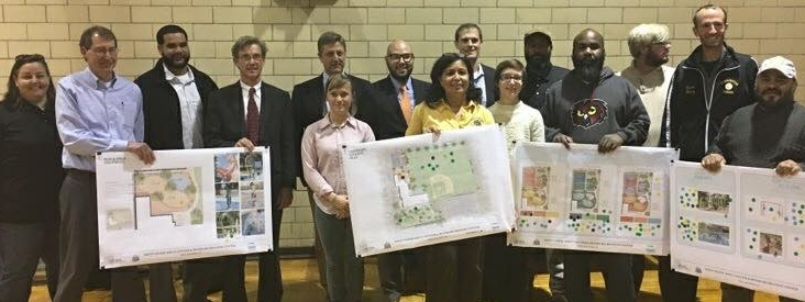 Rivera Recreation Center community meeting hosted by Councilwoman Maria D. Quiñones-Sánchez regarding redesign plans.