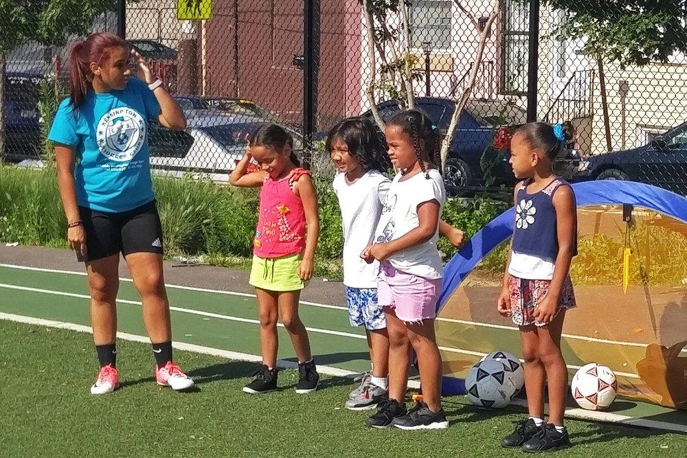 Centro Nueva Creación Soccer Clinic