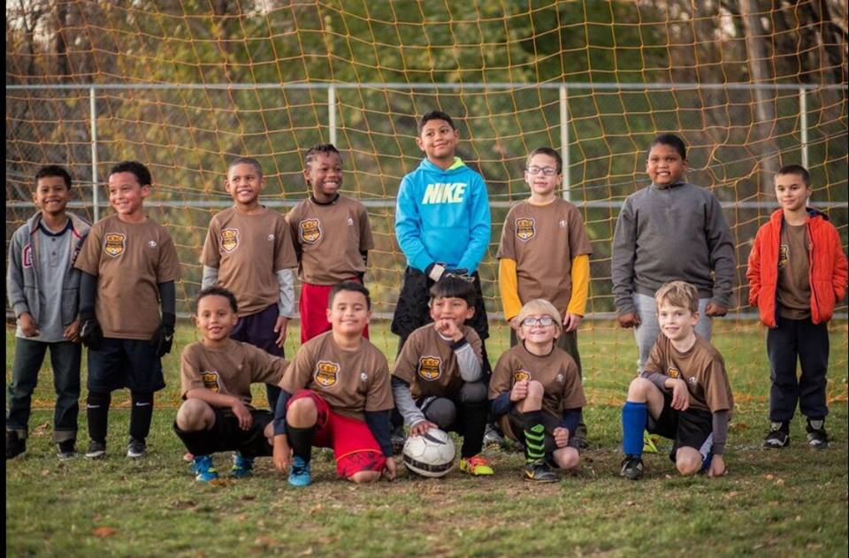 Kensington SC U9 Boys. Winners of the 2016 Philadelphia Parks & Recreation fall outdoor league and 2016 AC Fairhill futsal tournament. Coaches Christopher Munden, Geoffrey Rojas, Kyle Palmer, and Sam Foote.