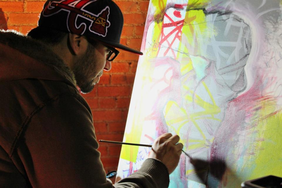 Painting Live in DEEP ELLUM, Plano, Frisco, Ft. Worth and surrounding areas. 2014