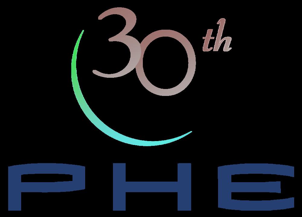 30th Anniversary PHE Logo.png
