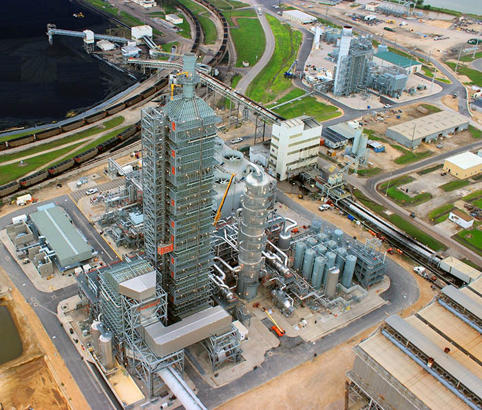 PHE supported the EIS for the Petra Nova Project, the world's largest post-combustion carbon capture system, capturing more than 90 percent of carbon dioxide for use in enhanced oil recovery (EOR). Image Source: National Energy Technology Laboratory.